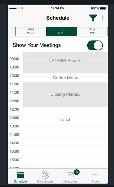 RIPE Networking App Screenshot