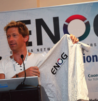 Paul and ENOG shirt